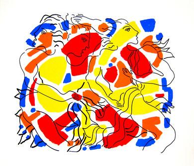 Sérigraphie - La Voz - 60 x 70 cm