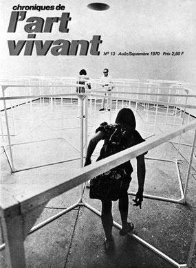 « Cubes in Venice » 35e Biennale di Venezia, 1970 - photo: A. Morain.