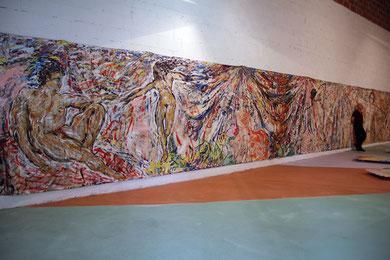 Installation « Hercule »  Hangar Lalandusse - photo: Frederik van Kleij