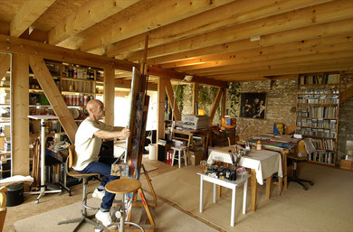 Atelier-Résidence Lalandusse - photo: Alberto Martinez