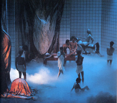 « La Nuit du Troisième Jour» 1984/1985 - photo: Clemens Boon.