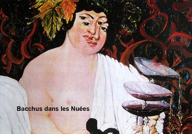 """« Bacchus dans les Nuées » Etude pour une opéra contemporain à """"La Base-sous-Marine"""" Bordeaux, 1998"""