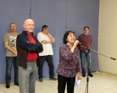 2012 - Inauguration Fresque Fleurs - Célébration 70 anniversaire d'Armando