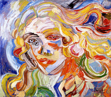 Venus, huile sur toile, 80 x 60 cm, 1981.