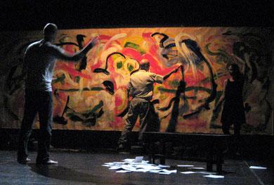« Salomé » 2007 - PIM Spazio Scenico  Milan - photo Frederik van Kleij