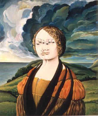 Ginebra, huile sur toile, 60 x 80 cm 1980.