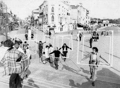 « Cubes in Venice » 35e Biennale di Venezia, 1970