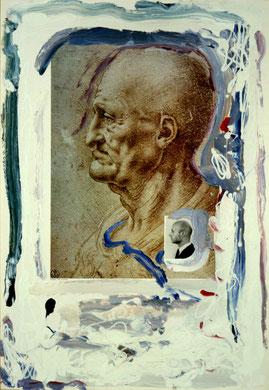 Autobiografia 6, techniques mixte, 50 x 65 cm, 1984