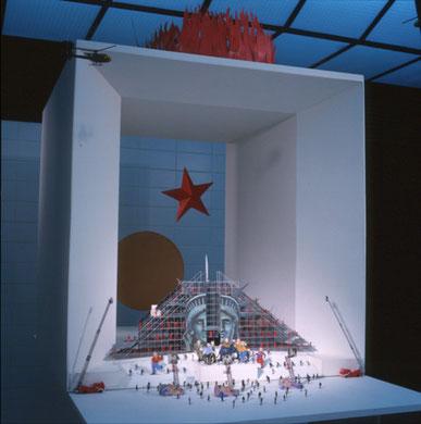 « Mémoire et Liberté » Etude Opéra Urbain, Paris, 1991 / 1992 - photo: Alberto Martinez