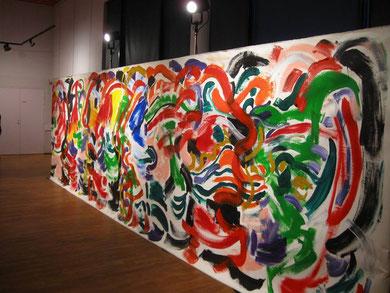 Armando au fil du temps - Installation / Exposition à La Coupole, Saint-Loubès - mars 2012 - photo Stef de Belder