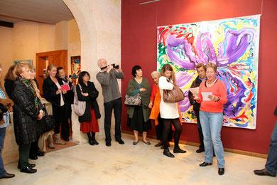 Exposition FLEURS -  Galerie Le Hil Bordeaux - 2012