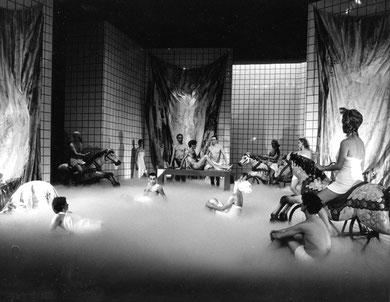 « La Nuit du Troisième Jour » 1984 / 1985 - photo: Clemens Boon