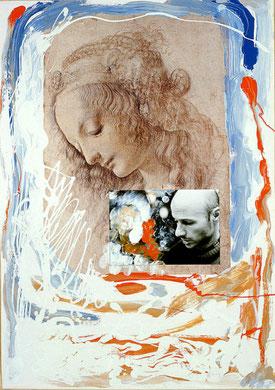 Autobiografia 3, techniques mixte, 50 x 65 cm, 1984.