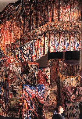 Labyrinthe, Installation, Créteil - Paris, 1985 - photo: Clemens Boon