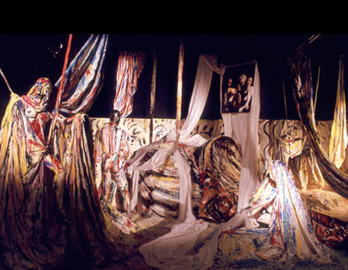 Salomé, Installation-Performance, 1983 - photo: Clemens Boon