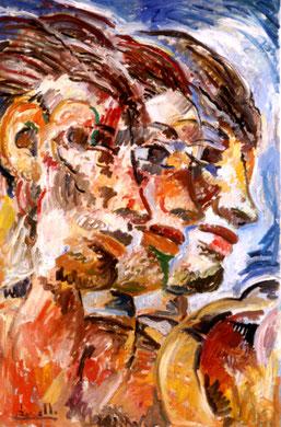 Ceres, acrylique sur toile, 110 x 140 cm, 1986.