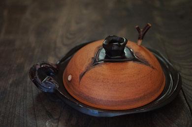 仲本律子 陶芸家 作家 土鍋 直火炊き 耐熱作品