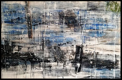 125  Mare d'inverno 150x100.   1^ Classificato al   39^ Concorso Ad-Art