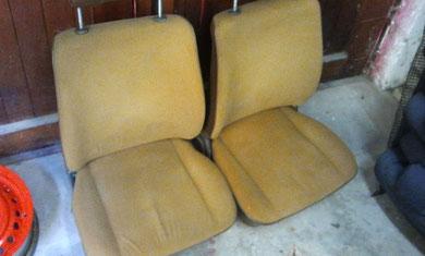 VW T3 Sitze sind sauber