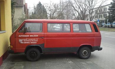 VW T3 Fensterbus nach Kauf