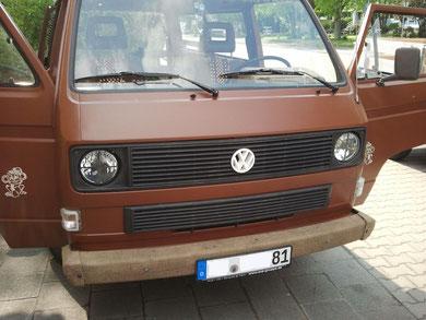 VW T3 Stoßstangen mit Jute