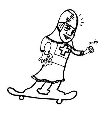 doodle 2002, copyright chantal labinski