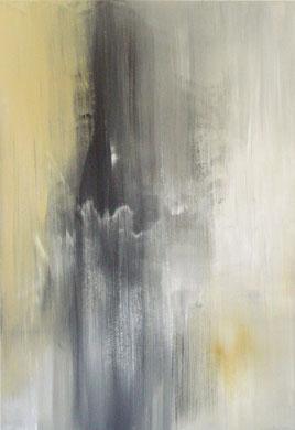 SANS TITRE, acrylique, 130 x 89 cm, 2011