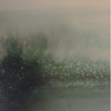 MEMOIRE III, encre et acrylique sur papier, 50 x 50 cm, 2015