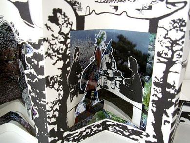 URASHIMA TARO, livre théâtre + DVD, 15 x 19 cm (15 x 150 ouvert), Editions Rafaël Andréa, 2008