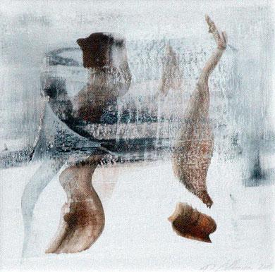 SANS TITRE, gouache, 18 x 18 cm, 2005