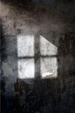 ARME BLANCHE, photographie contrecollée sur alu dibond, papier aquarelle, 40x60 cm