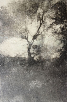 VOYAGE A TRAVERS LE TEMPS II, gravure, 40 x 50 cm, 2014