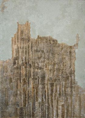 SANS TITRE I papier, carton, encre, 95 x 133 cm, 2011
