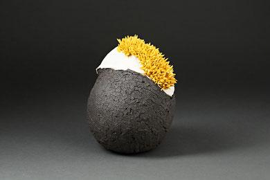 VIE DE MER, raku, 30 cm de haut, 2016