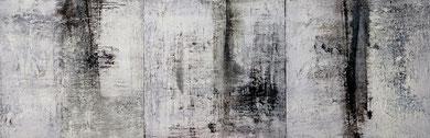 SANS TITRE, huile, 35 x 105 cm, 2013