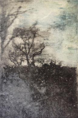 VOYAGE A TRAVERS LE TEMPS IV, gravure, 40 x 50 cm, 2014