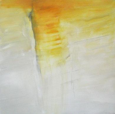 SANS TITRE, acrylique, 150 x 150 cm, 2011