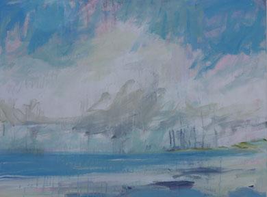 summer skies  60 cm / 80 cm   acryl on canvas