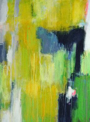 Springtime ( 2017 )  80cm / 60 cm   acryl on canvas
