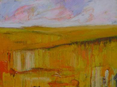summer happiness 60 cm / 80 cm   acryl on canvas