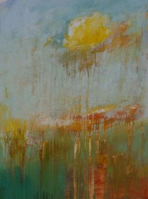 Springtime ( 2018 )  80 cm / 60 cm   acryl on canvas