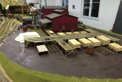 sawmill progress August 2014