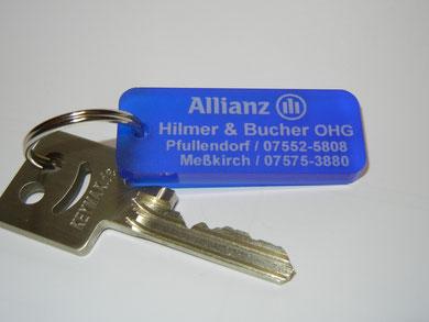 Schlüsselanhänger Acryl