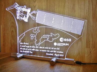 LED beleuchtetes Acrylglas