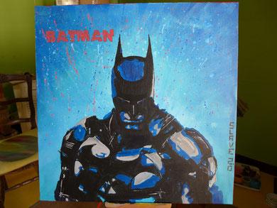 votre portrait street art batman