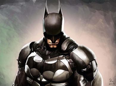 votre portrait street art batman avant