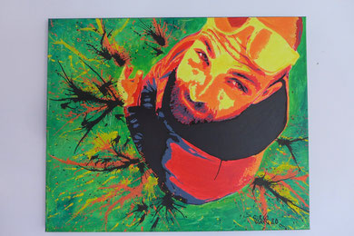 votre photo sur toile street art