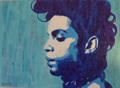 votre portrait street art personnalisé Prince