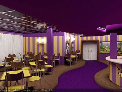 Дизайн интерьера ресторана, кафе, бара