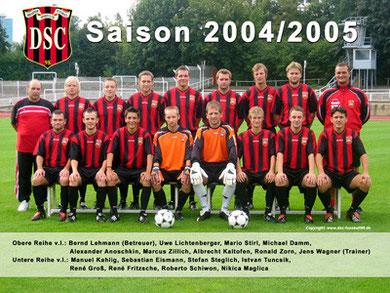 Saison 2004/05 - Landesliga